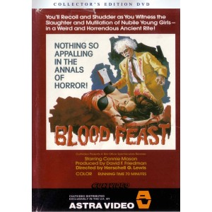 Blood Feast UNCUT Pre-cert (1963) UK DPP39