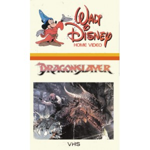 Dragonslayer (1981) Movie VHS Disney