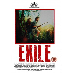 Exile (1990) Movie VHS Disney