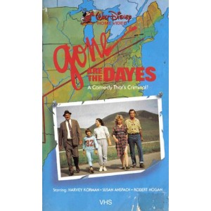 Gone Are The Dayes (1984) Movie VHS Disney