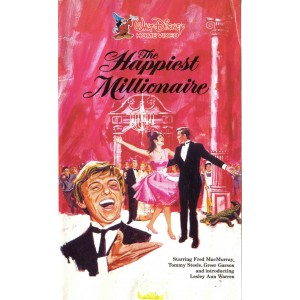 The Happiest Millionaire (1967) Movie VHS Disney
