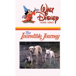 The Incredible Journey (1963) Movie VHS Disney