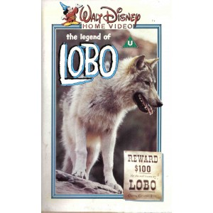 The Legend of Lobo (1962) Movie VHS Disney