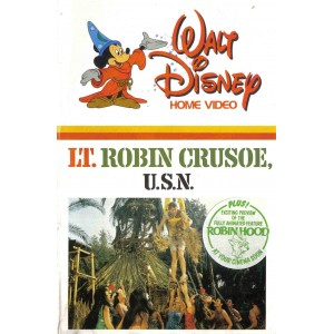 Lt Robin Crusoe (1966) Movie VHS Disney