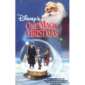One Magic Christmas (1985) Movie VHS Disney