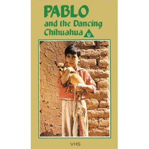 Pablo and the Dancing Chihuahua (1968) Movie VHS Disney