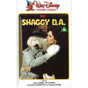 The Shaggy D.A. (1976) Movie VHS Disney
