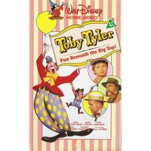 Toby Tyler (1960) Movie VHS Disney