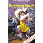 You Ruined My Life (1987) Movie VHS Disney