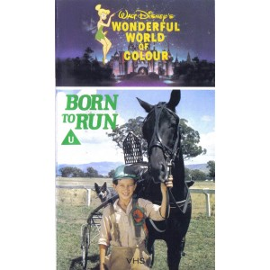 Born to Run (1975) Movie VHS Disney