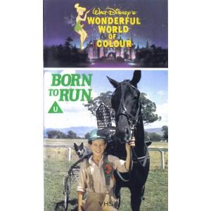 Born to Run (1975) Movie VHS Disney
