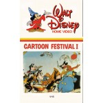 Cartoon Festival 1 Movie VHS Disney