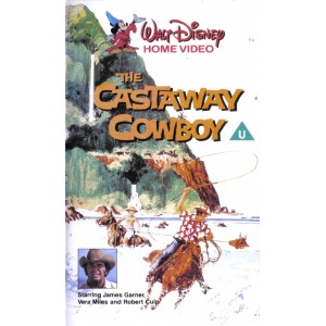 The Castaway Cowboy (1974) Movie VHS Disney