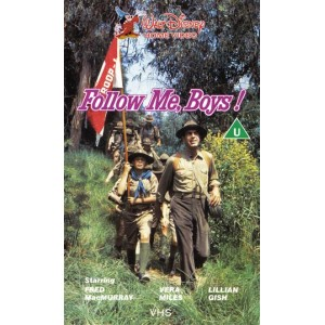 Follow Me, Boys (1966) Movie VHS Disney