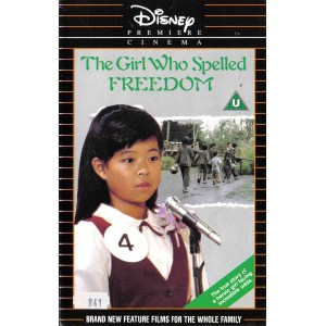 The Girl who Spelled Freedom (1986) Movie VHS Disney