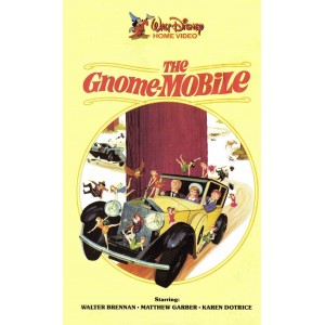 The Gnome-Mobile (1967) Movie VHS Disney