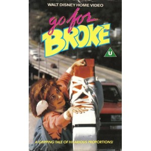 Go for Broke (1988) Movie VHS Disney