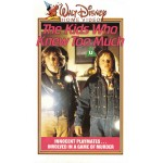The Kids Who Knew Too Much (1980) Movie VHS Disney