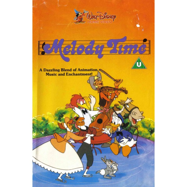 Melody Time (1948) Movie VHS Disney