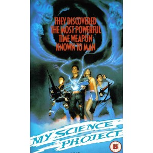My Science Project (1985) Movie VHS Disney
