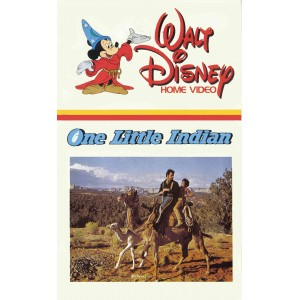 One Little Indian (1973) Movie VHS Disney