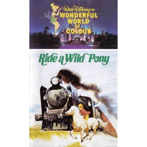 Ride the Wild Pony (1975) Movie VHS Disney
