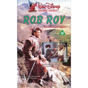 Rob Roy: The Highland Rogue (1953) Movie VHS Disney
