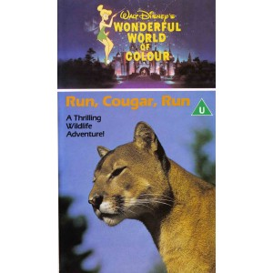 Run, Cougar Run (1972) Movie VHS Disney