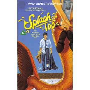 Splash Too (1988) Movie VHS Disney