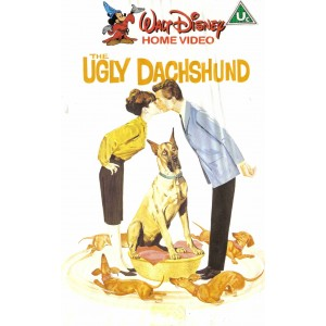 The Ugly Dachshund (1966) Movie VHS Disney