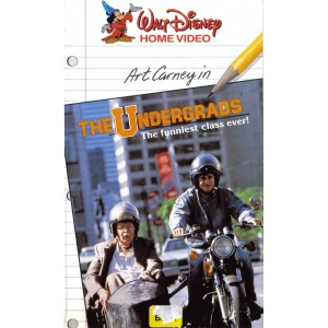 The Undergrads (1985) Movie VHS Disney