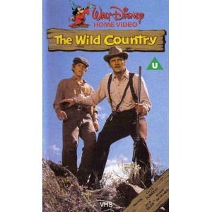 The Wild Country (1970) Movie VHS Disney