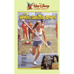 The Worlds Greatest Athlete (1973) Movie VHS Disney